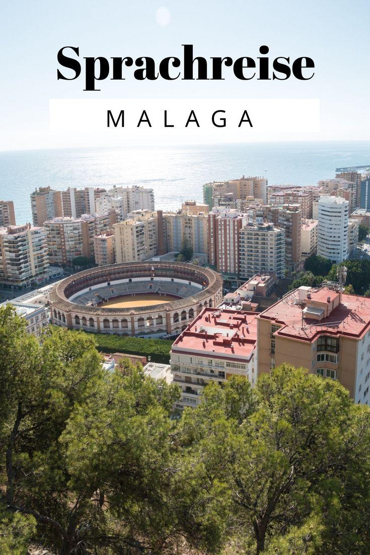 (Werbung) Sprachreise Malaga mit Strand, Pool & Tapas #lalsprachreisen #lovealanguage #Sprachreise #Sprachkurs #Sprachschule #Spanien #Andalusien #Malaga