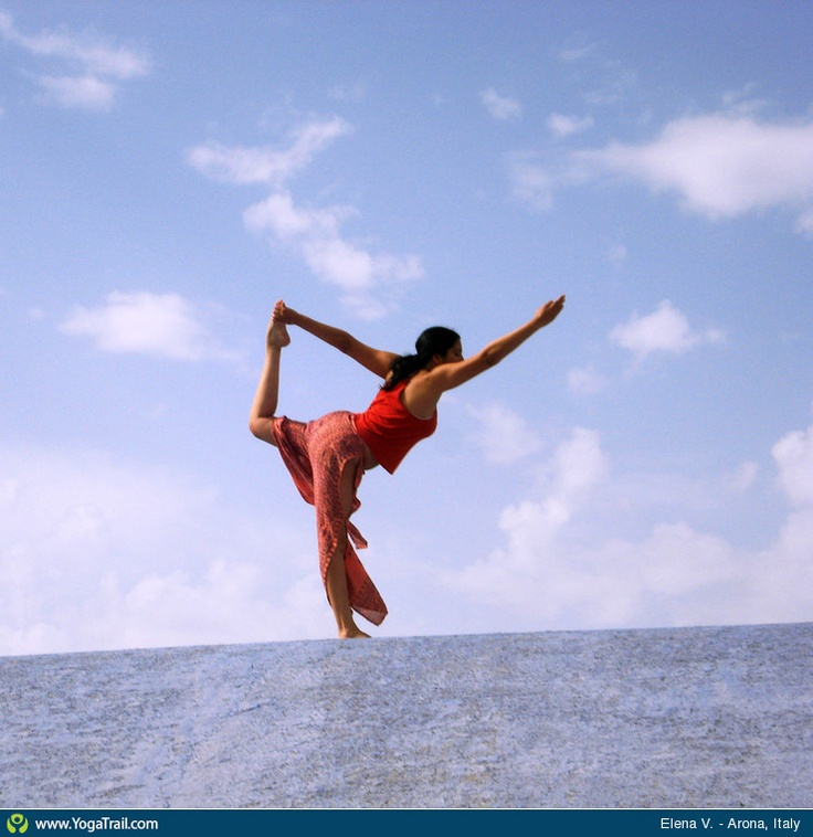 "Yoga Poses Around the World: ""Dancer in the Sky"""