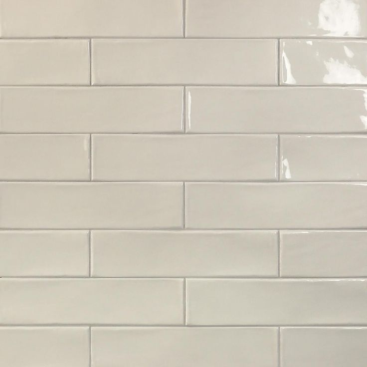 Ivy Hill Tile Birmingham Dove Gray 3 in. x 12 in. 8mm Polished Ceramic Subway Tile (5.38 sq. ft. / box), White