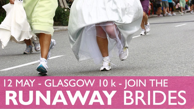 Join the Runaway Brides for the Women's 10K in Glasgow!