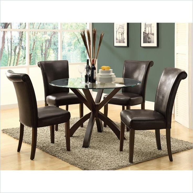 $217,95 Set Of 2 Lowest Price Online On All Monarch Faux Leather Dining  Chair Part 86