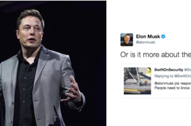 Tesla CEO Elon Musk Tweets About The Size Of His Rocket Going Commando