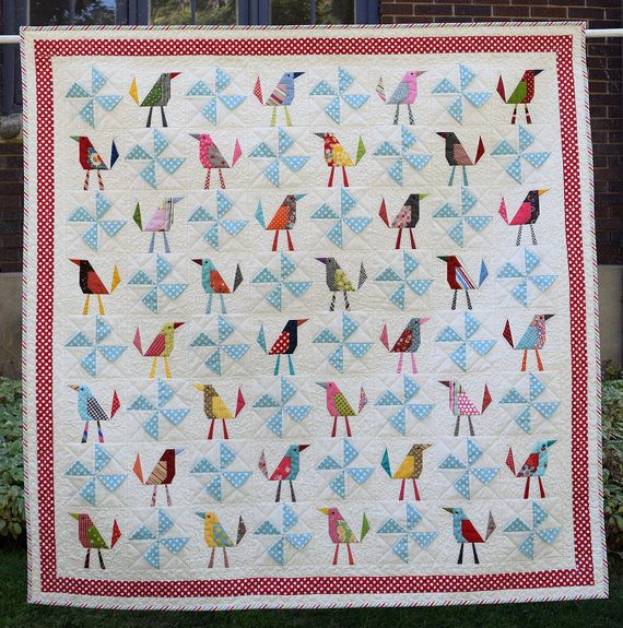 659 best BIRD QUILTS images on Pinterest   Bird quilt, Mini quilts ... : quilts with birds - Adamdwight.com