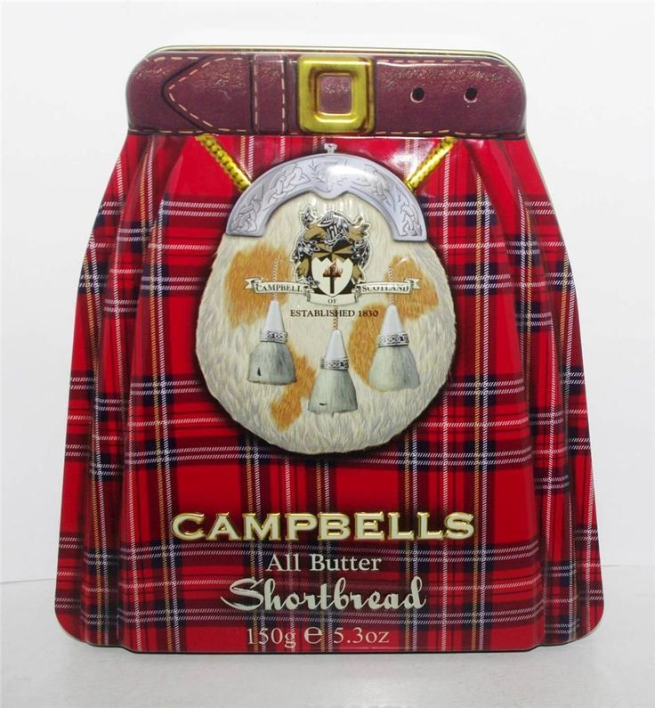 Campbells Kilt tin