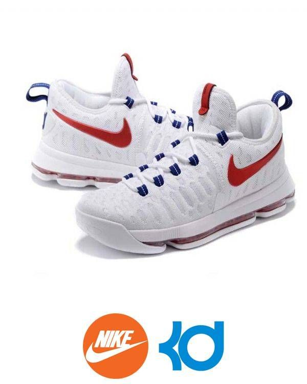 These Men's Nike Zoom White Kevin Durant KD IX Basketball Shoes are perfect equipment for you when you are hitting the court like a NBA superstar. With unique and new design, the fly kicks feature technical cushioning that provide maximum support and energy return. The Zoom unit offers you the ultim