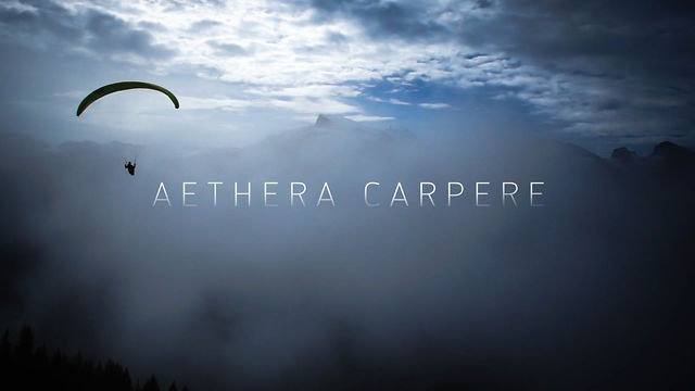 AETHERA CARPERE - Choose your path by skywalk-paragliders. AETHERA CARPERE
