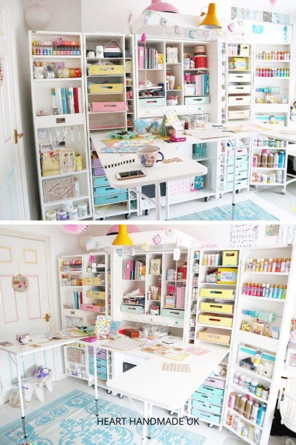 Do You Need Some Craft Room Decor Ideas This Mini Guide Will Walk You Through The Basic Steps To Giving Craft Room Decor Craft Cabinet Craft Storage Cabinets