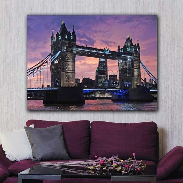 Πίνακας σε καμβά London Bridge