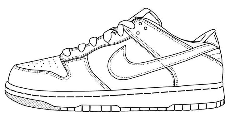 24 besten shoes coloring page bilder auf pinterest