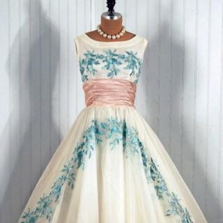1950's Vintage DressesWedding Dressses, Cocktails Dresses, Party Dresses, Fashion, Style, Parties Dresses, 1950S Dresses, Vintage Dresses, 1950 S