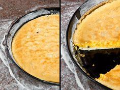 Verführerisch: Eierschecke nach Freiberger Art, die dem Original der Freiberger Eierschecke ziemlich nahe kommt