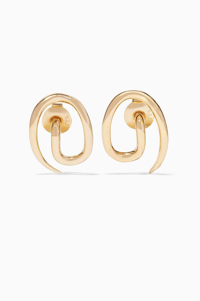 Застывшее жидкое золото в украшениях Charlotte Chesnais   Украшения   VOGUE
