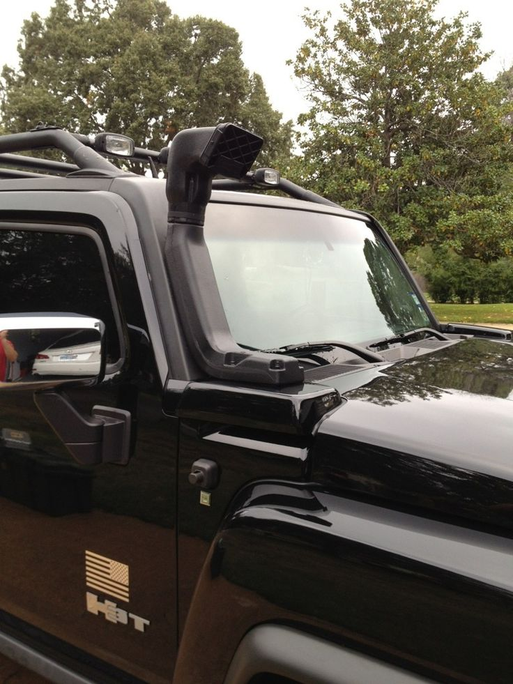 Cool snorkel idea for Hummer H3/H3T