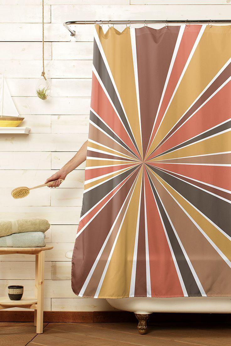 70 S Star Burst 70s Home Decor Contemporary Shower Design