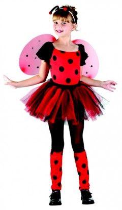 Le déguisement de Coccinelle rouge pour fille, idéal pour faire patienter en attendant le printemps !