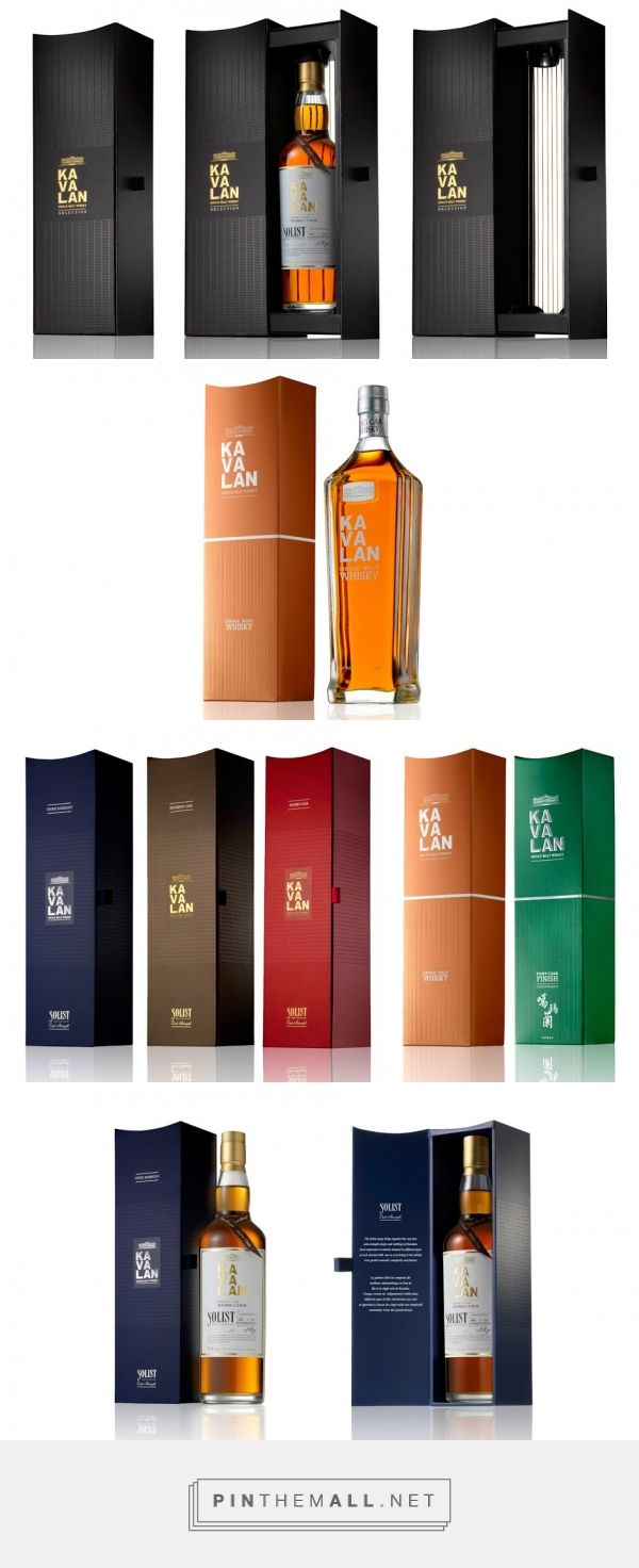 Kavalan Taiwanese Whisky - Packaging of the World - Creative Package Design Gallery - http://www.packagingoftheworld.com/2016/06/kavalan-taiwanese-whisky.html