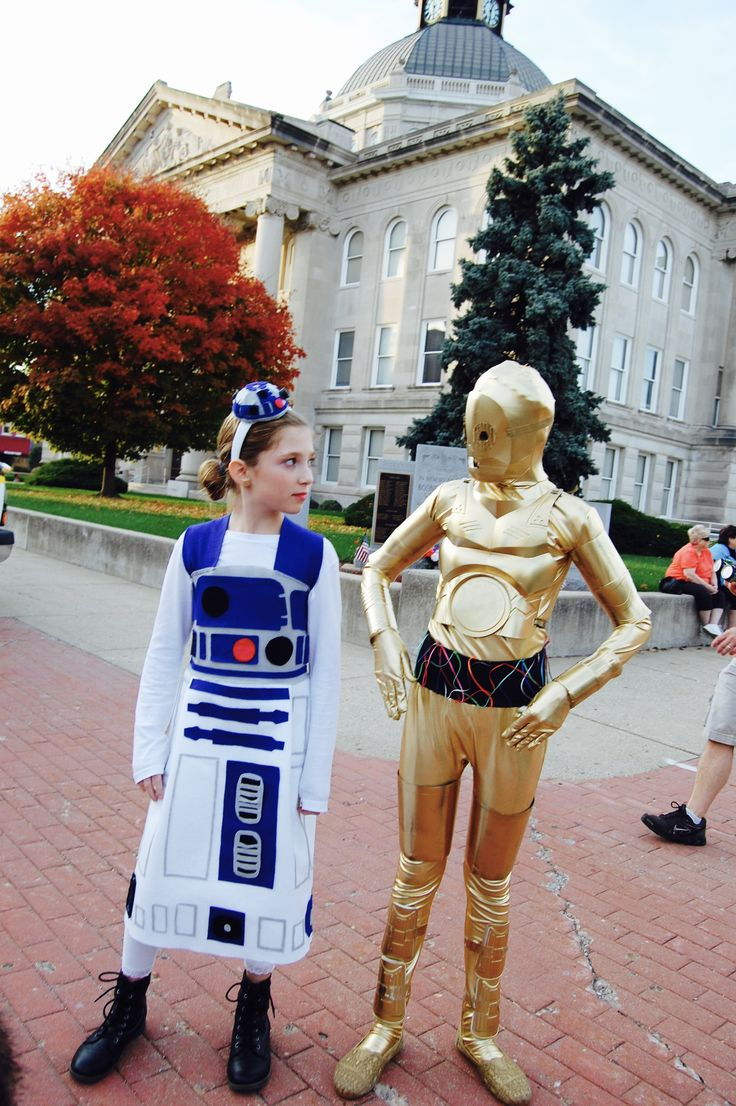 Star Wars R2D2 and C3PO DIY Costume