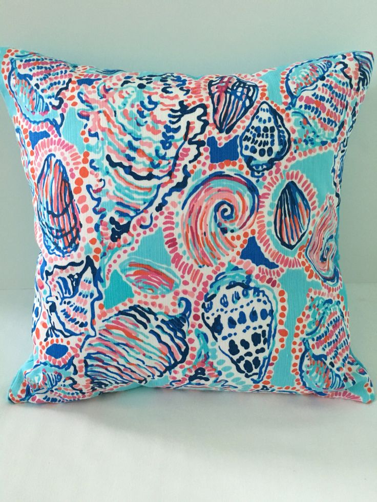 Lilly Pulitzer Throw Pillows May 2017
