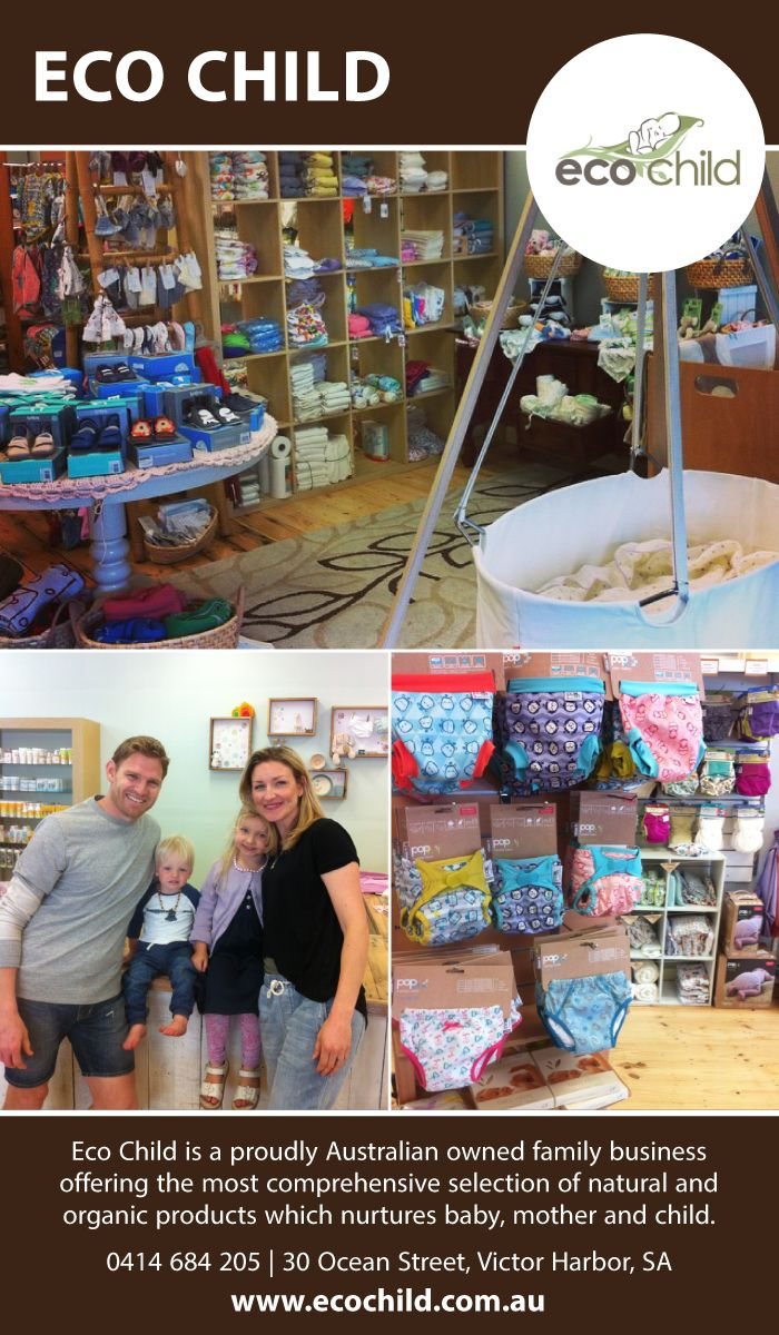 This week, we get to meet Kimberley from Eco Child. Kimberley, and her husband Adam, are the passionate entrepreneurs behind one of Australia's most beautiful eco baby boutiques. With a huge online store and a gorgeous shopfront in Victor Harbor, SA, Eco Child caters to the needs of families who want to live gently during the childhood stage.