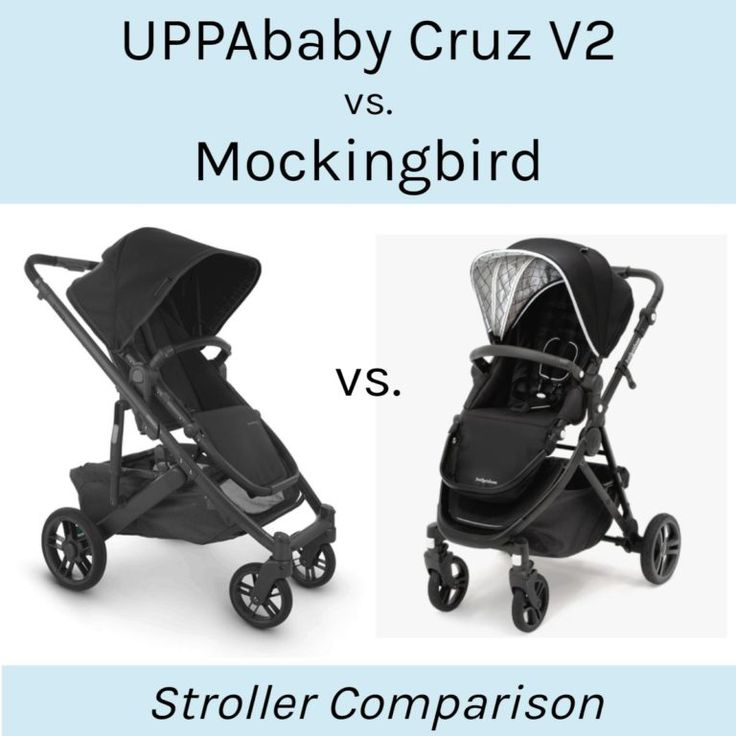 UPPAbaby Cruz V2 vs. Mockingbird in 2020 Uppababy cruz
