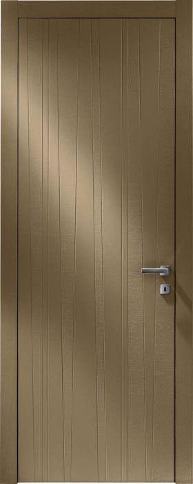 Модель 01 Frassino Cappuccino | Межкомнатные двери со склада | Коллекция Line | Продажа межкомнатных дверей шпон | Итальянские современные двери Union