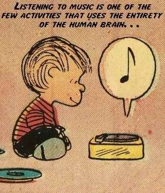 Listening to music is one of the few activities that uses the entirety of the human brain.