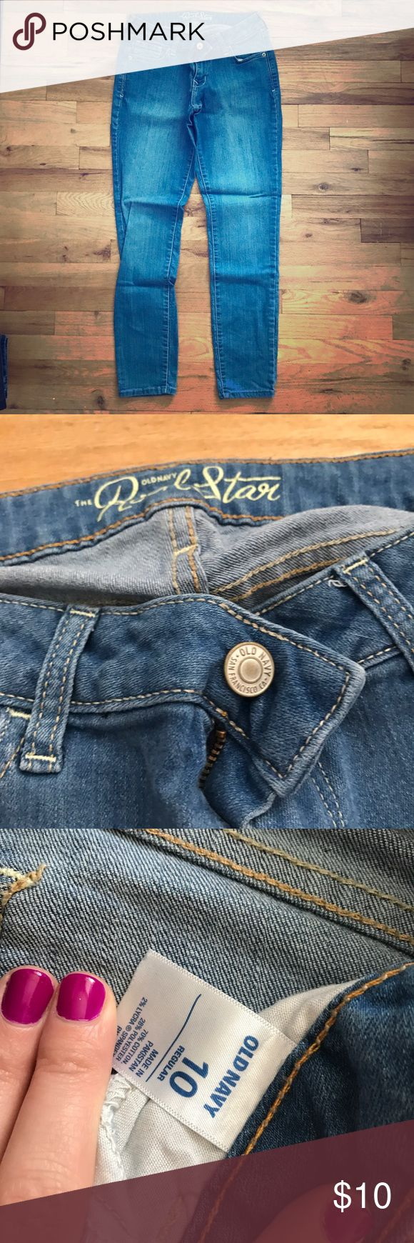 Old Navy Rockstar Jean 10 Old Navy Rockstar Jean 10. Excellent Condition. Old Navy Jeans Skinny