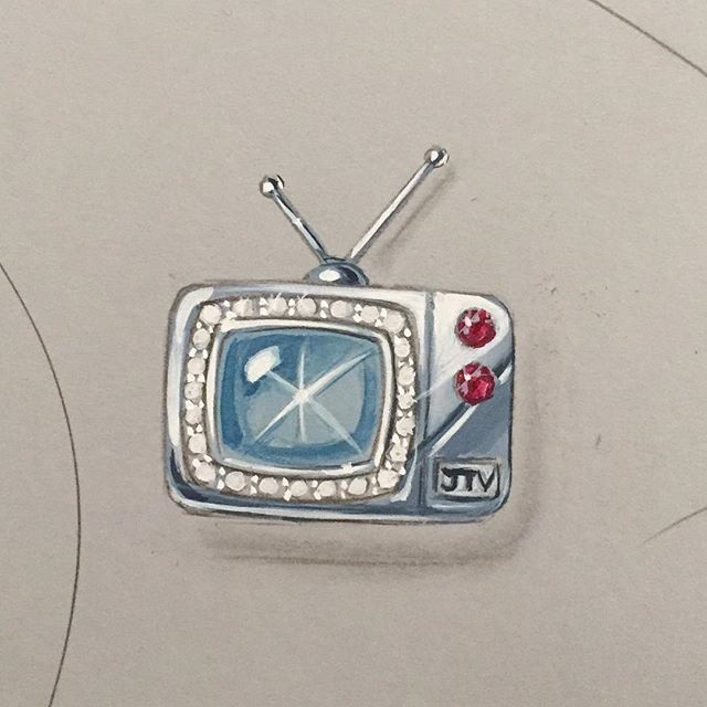 To my Jewelry Television peeps: Happy May Day! I am thankful to have you as my friends and co-workers. Happy International Workers Day from all of us at Rémy design!  #jtv #jtvjewelrylove #jewelryart #jewelryrendering #jewelryillustration #jeweled #television #brooch #jewelryartist #remyrotenier