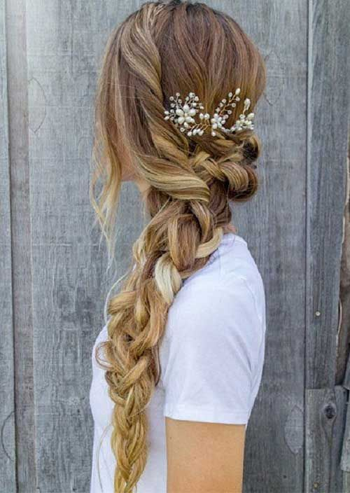 18.Prom Braided Hairstyle