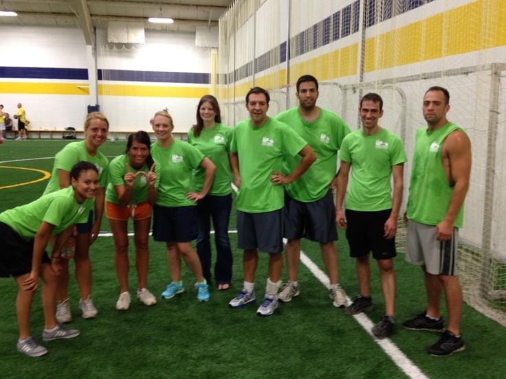 Corporate Challenge 2012-Dodgeball