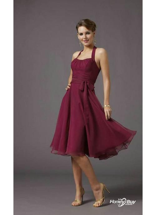25  best ideas about Knee length bridesmaid dresses on Pinterest ...