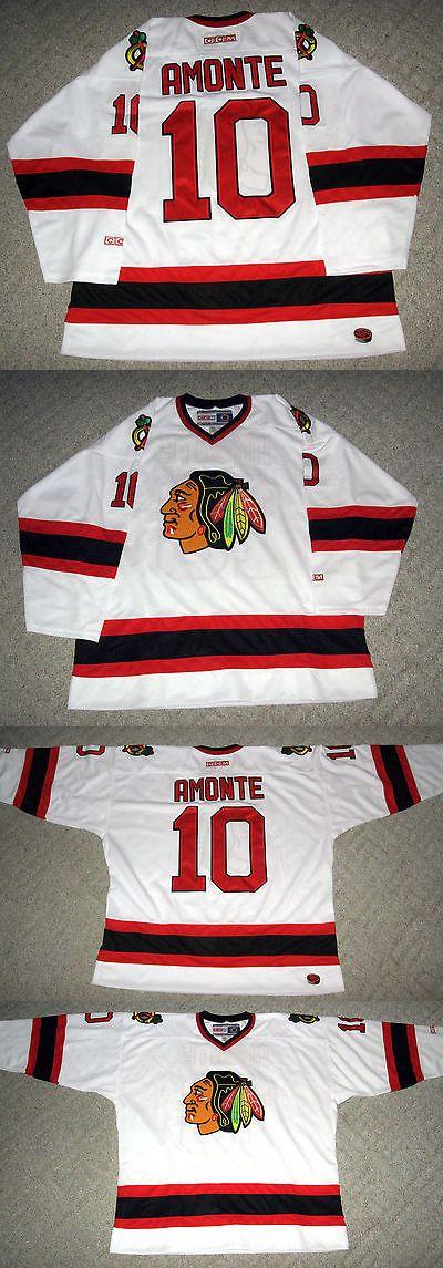 Hockey-NHL 24510: Chicago Blackhawks Tony Amonte White Nhl Hockey Jersey Ccm Sewn Men S 2Xl -> BUY IT NOW ONLY: $69.99 on eBay!