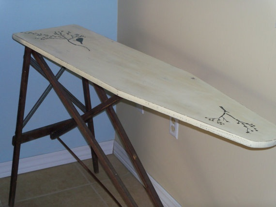 Antique ironing board...