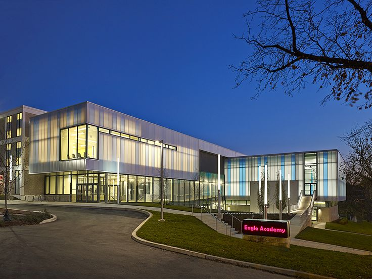 Inspirational Eagle Academy PCS at McGogney an award winning project is a full renovation and addition to a former DCPS school The project acmoda