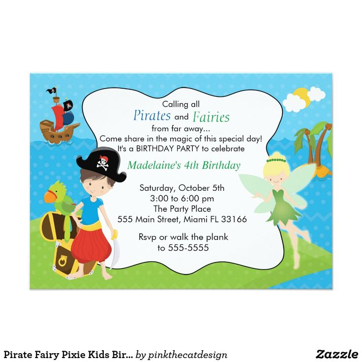 49 best Pirate Birthday Invitations images on Pinterest | Pirate ...