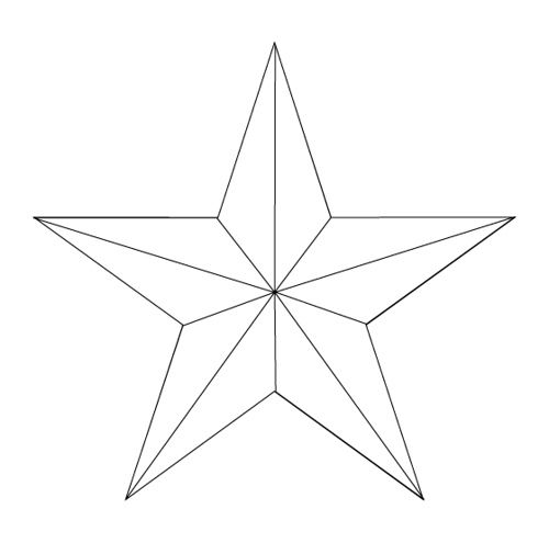 29 best Star Tattoo Outlines images on Pinterest | Star tattoos ...