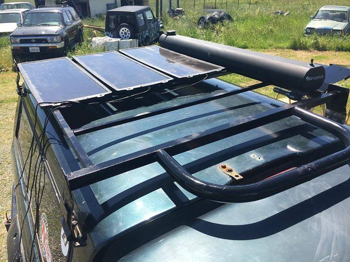Awesome Sportrack SR1020 Camper Top Roof Rack