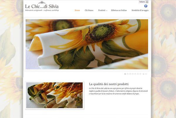 Le Chic... di Silvia website design, #Orvieto, Italy