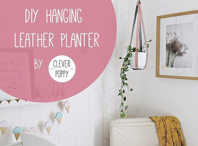 🌸 New blog is up for our DIY Hanging Leather Planter! 🌿  This project is awesome for adding the finishing touch to any room (plants are good for the soul!) and is pretty straight-forward to create.  Check it out via the link in my profile ☝🏻️