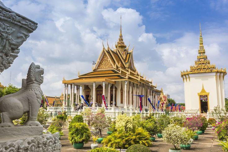 Королевский дворец, Камбоджа.