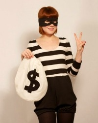 quick and easy costume ideas!... group cops and robbers costume??