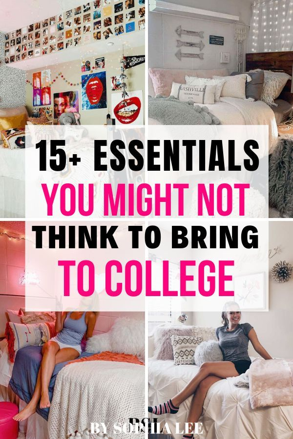 Unexpected Things To Bring To College 15 Items You Probably Didn T Think To Bring To College By Sophia Lee In 2020 College Dorm Gifts Freshman Dorm Dorm Room Essentials List