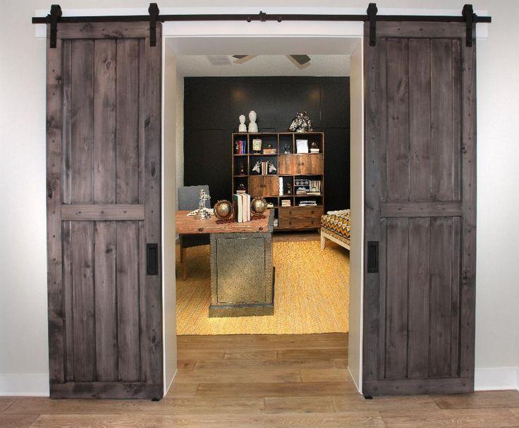 Study with barn sliding doors; The Tinsley floor plan Drees Custom Homes Austin & 108 best Austin TX - Drees Custom Homes images on Pinterest ...