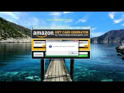 Amazon Gift Card Generator with PROOF [October 2013]