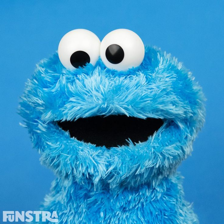Cookie Monster and more Sesame Street toys at Funstra