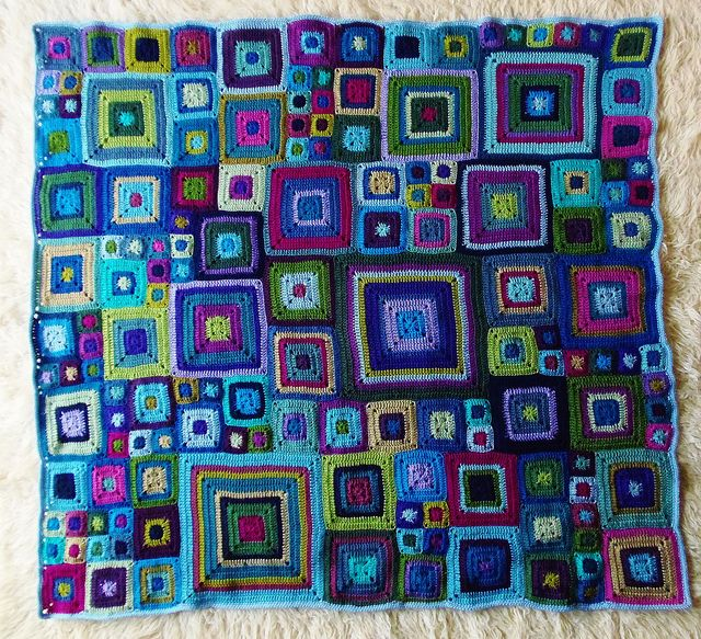 Beautiful!  Babette Blanket by Ruthiejoy, via Flickr