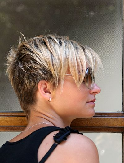 GREAT G R E A T COLOUR!!!!!Short Choppy Hairstyles for Women   Hair salon in NYC: Short haircuts for women