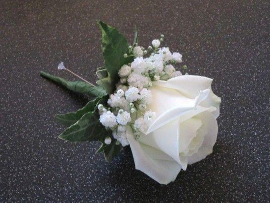 Rose And Gypsophila Onhole