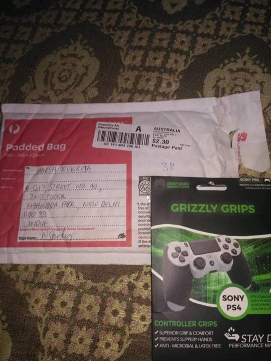 Thnks drop bear gaming gear for this wonderful gift