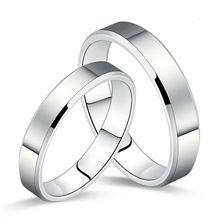 2015Newest !!!  Férfi Gyűrű divat rozsdamentes acél Gloss Pár Zenekarok jegygyűrűt férfiakra és a nőkre INGYENESKiszállítás (Kína (szárazföld))